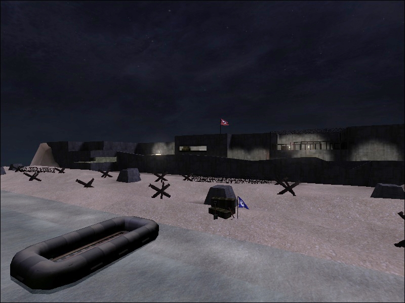 et trackbase net] » Map details for map: Normandy Beach Invasion